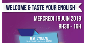 Welcome & taste your English !