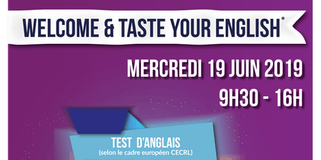 Welcome & taste your English ! billets