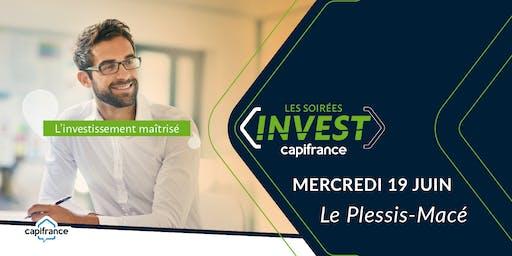 """Soirée Invest  Capifrance - """"Les clés pour réduire vos impôts"""""""