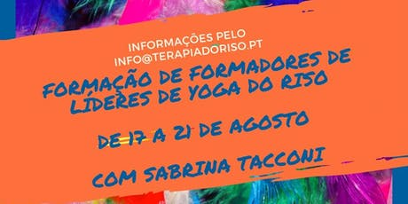 Formação de Formadores de Líderes de Yoga do Riso bilhetes