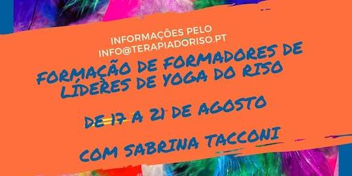 Formação de Formadores de Líderes de Yoga do Riso