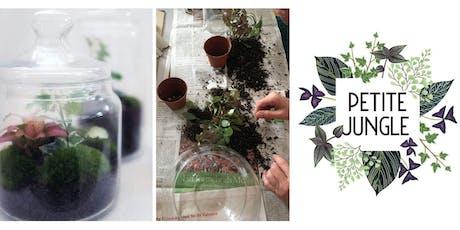 Mini-terrarium Workshop Tickets