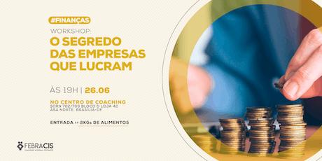 [BRASILIA/DF] TIRA DÚVIDAS - CURSO BUSINESS HIGH PERFORMANCE 25/06/2019 bilhetes