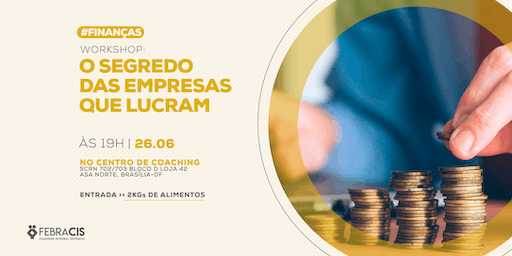 [BRASILIA/DF] TIRA DÚVIDAS - CURSO BUSINESS HIGH PERFORMANCE 25/06/2019