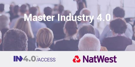 Master Industry 4.0 - Manchester tickets