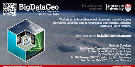 Big Data in the Geosciences: From subsurface to extra-terrestrial tickets