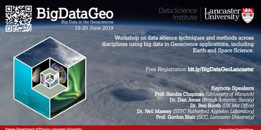 Big Data in the Geosciences: From subsurface to extra-terrestrial