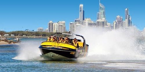Broadwater Adventure: Premium Jet Boat Ride