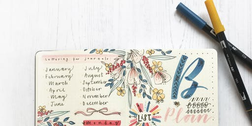 Tombow x Moleskine Journaling workshop with Rebecca Cahill Roots