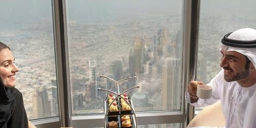 Burj Khalifa: Tea in the Clouds at The Lounge (152nd - 154th Floors)