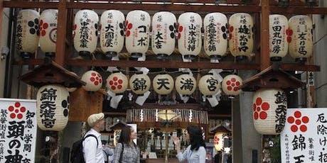 Nishiki Food Market Walk, Sake Tasting & Rolled Sushi Cooking Tour tickets
