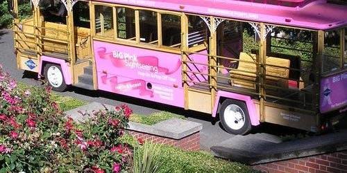 Hop-on Hop-off Pink Trolley Portland