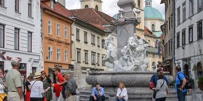 Ljubljana City Center & National Gallery: Guided Tour