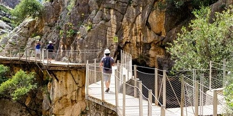 Caminito del Rey: Guided Tour + Transport from Málaga bilhetes