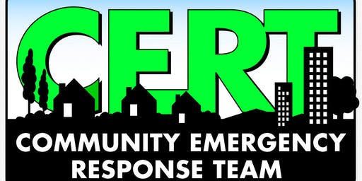 Community Emergency Response Team (CERT) Basic Training