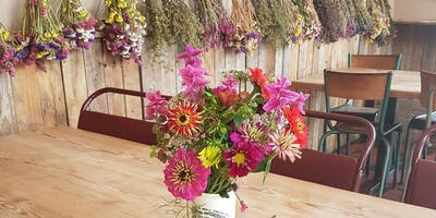 Late Summer Blooms & Dried Flower Arranging Workshop