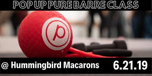 Pop Up Pure Barre Class & Happy Hour