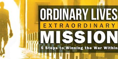 Ordinary Lives, Extraordinary Mission tickets