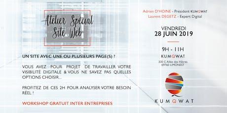 Workshop Kumqwat | Atelier Spécial Site web billets