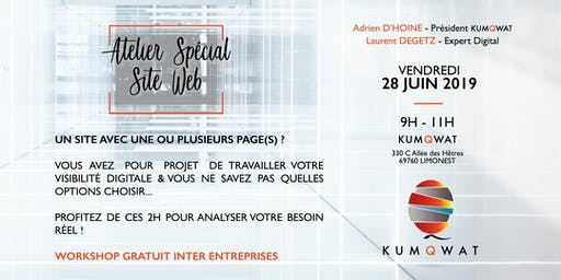 Workshop Kumqwat | Atelier Spécial Site web