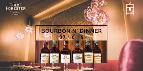 Bourbon N' Dinner tickets