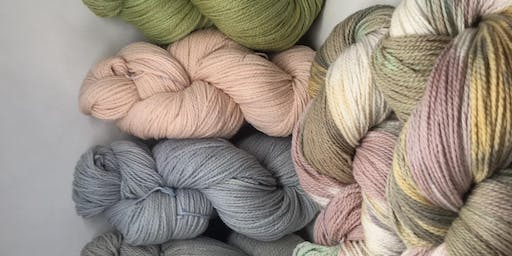 Paint a Botanical Yarn Palette with Simone Cross from Gum Blossom Yarns