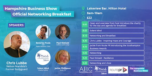 Hampshire Business Show: Networking Breakfast