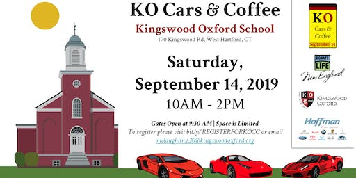 KO Cars and Coffee: Supporting Donate Life New England