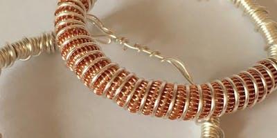 Wire Jewellery Workshop - Spiral Bracelet Making