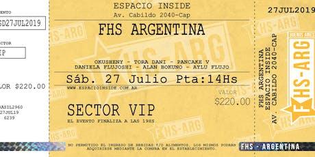 FHS ARGENTINA entradas