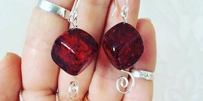 Wire Jewellery Workshop - Beaded Earrings