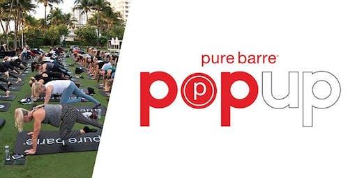 Hampton Social Pure Barre Pop-up Class