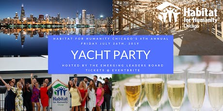 2019 Habitat for Humanity Chicago Yacht Party Hosted by the Emerging Leaders tickets