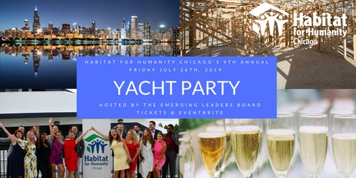 2019 Habitat for Humanity Chicago Yacht Party Hosted by the Emerging Leaders
