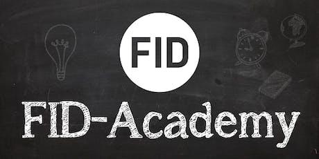 FID-Academy - Algemene opleiding voor gevorderden tickets