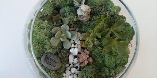 KIDS CLUB: Sumer Fairy Garden Class