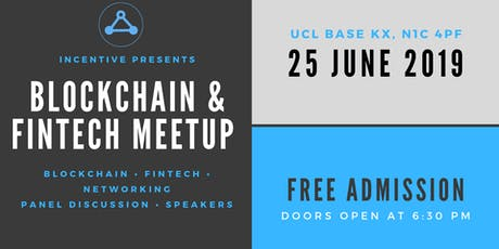 Blockchain & FinTech London Meetup tickets