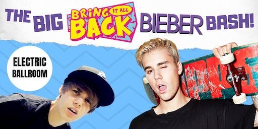 The BIG Bring It All Back Bieber Bash!