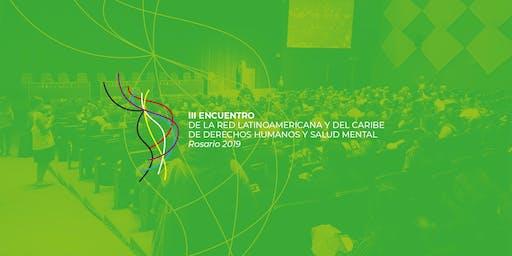 III Encuentro de la Red Latinoamericana y del Caribe de DDHH y Salud Mental