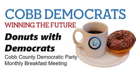 Donuts with Democrats: Cobb County Dems June Meeting tickets