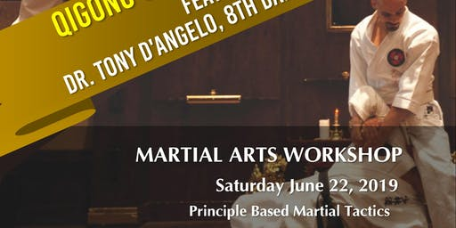 Dr. Tony D'Angelo, Kyoshi Principle Based Martial Tactcis Workshop