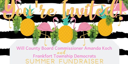 Summer Fundraiser - Friends of Amanda Koch & Frankfort Township Democrats