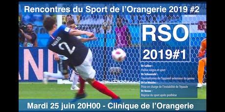 Rencontres du Sport de l'Orangerie billets