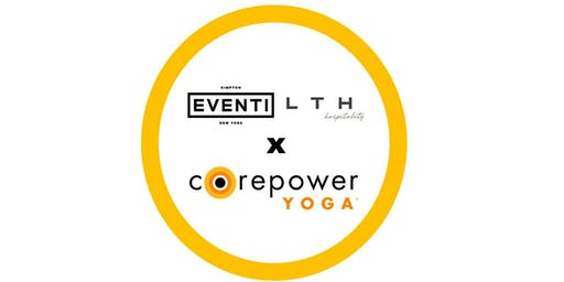 Kimpton Hotel Eventi & CorePower Yoga