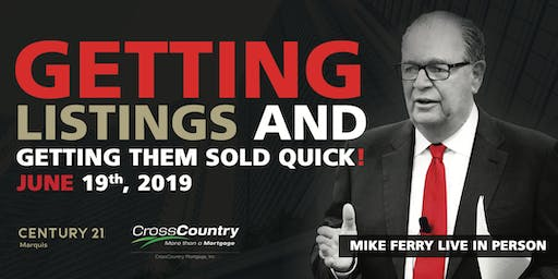 Mike Ferry Live Seminar In Dublin - Getting Listings & Getting Them Sold!