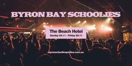 Byron Bay Schoolies tickets