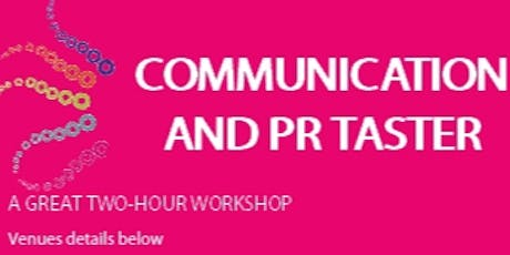 Communication and PR Taster tickets