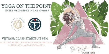 Yoga on the Point tickets