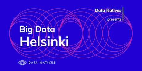 Big Data Helsinki v 3.0 tickets