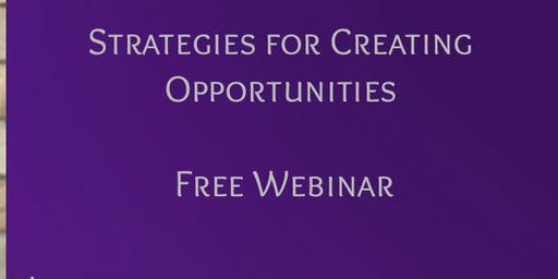 Strategies for Creating Opportunities